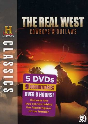 History Channel Classics: Real West - Cowboys &