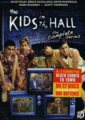 The Kids in the Hall - Complete Series (22-DVD)