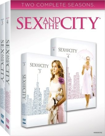 Sex and the City - Complete Seasons 3-4 (6-DVD)