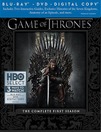 Game of Thrones - Complete 1st Season (Blu-ray +