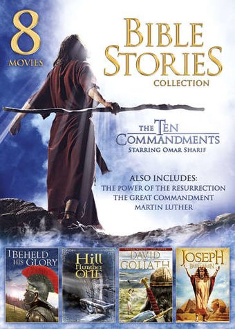 Bible Stories 8 Movie Collection The Great Commandment