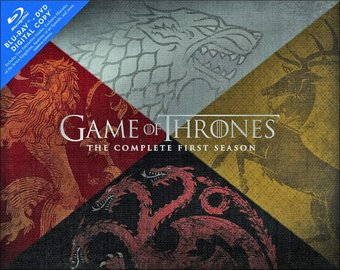 Game of Thrones - Complete 1st Season Gift Box