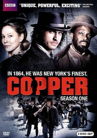 Copper - Season 1 (3-DVD)