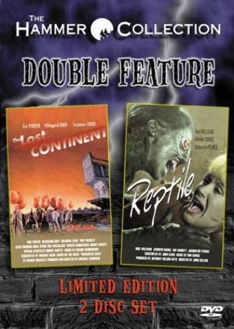 The Lost Continent / The Reptile 2-Pack (2-DVD)
