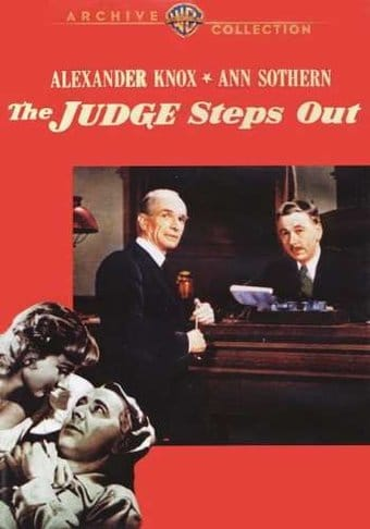 The Judge Steps Out (Full Screen)