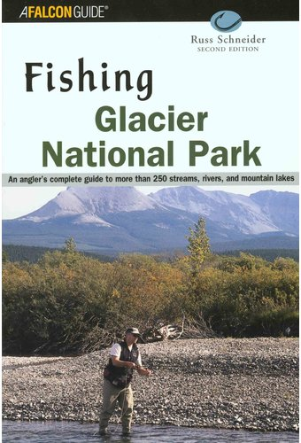 Fishing glacier national park book 2002 by russ for Fishing in glacier national park