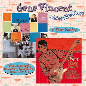 Sounds Like Gene Vincent Crazy Times Cd 1998