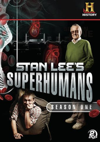 Stan Lee's Superhumans - Season 2 (3-DVD)