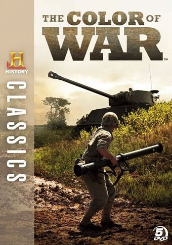 History Channel: WWII - The Color of War (5-DVD)