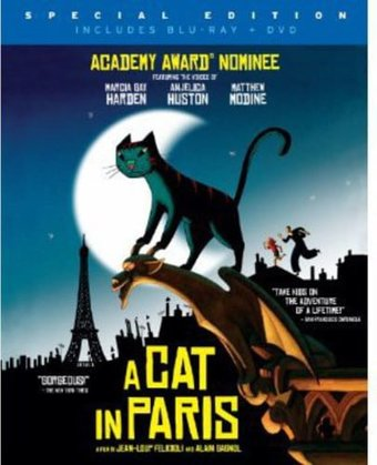 A Cat in Paris (Blu-ray + DVD)