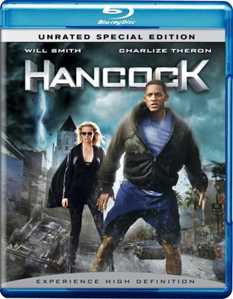 Hancock (Blu-ray, Unrated Special Edition, 2-Disc