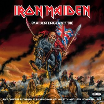 Maiden England '88 (2 Picture Discs)