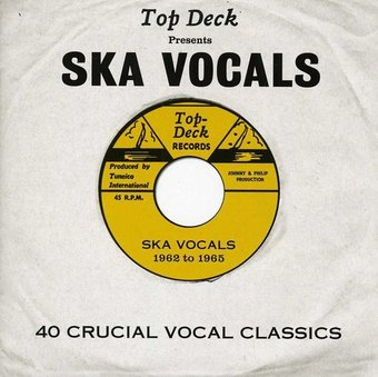 Top Deck Presents: Ska Vocals (2-CD)