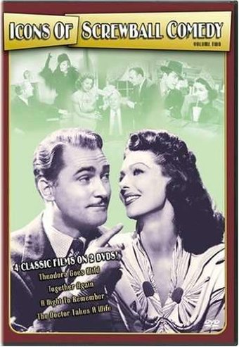 Icons of Screwball Comedy, Volume 2 (2-DVD)