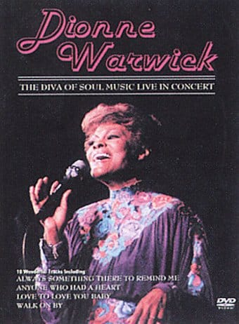 Dionne Warwick - Diva of Soul Music Live at the