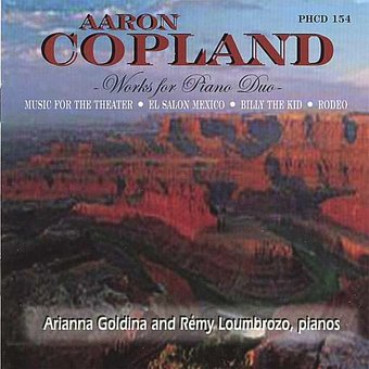 Aaron Copland - Works for Piano Duo