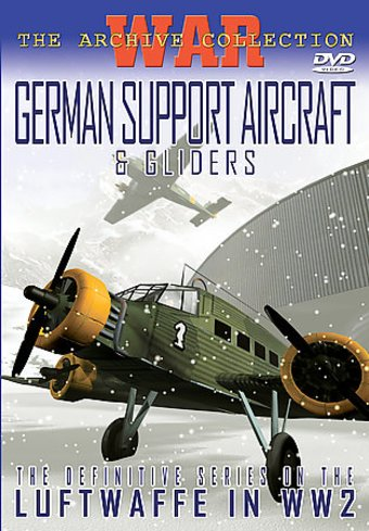 WWII - Aviation: German Support Aircraft & Gliders
