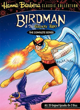 Birdman and the Galaxy Trio - Complete Series