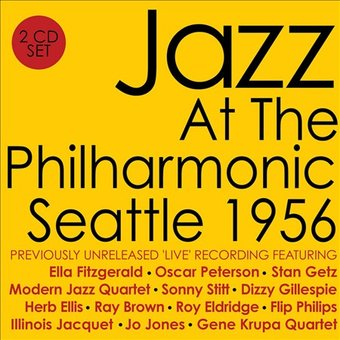 Jazz At The Philharmonic: Seattle 1956 (2-CD)