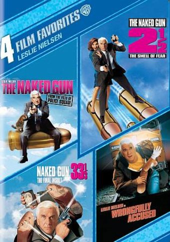 4 Film Favorites: Leslie Nielsen (The Naked Gun /