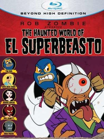 The Haunted World of El Superbeasto (Blu-ray)