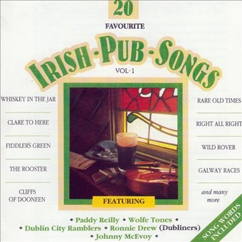 Irish Pub Songs, Volume 1