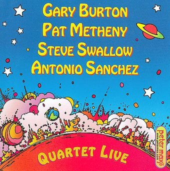 Quartet Live (with Steve Swallow & Antonio