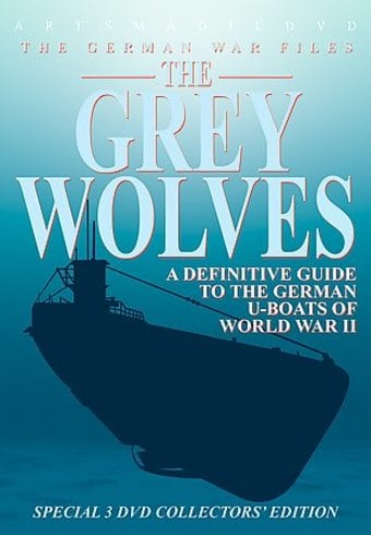 WWII - Grey Wolves, U-Boats 1939-1945 (3-DVD)