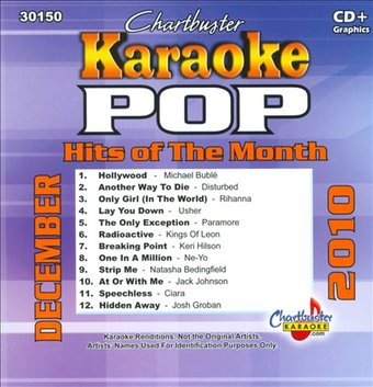 Chartbuster Karaoke: Pop Hits of the Month: