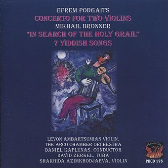 Podgaits - Concerto for Two Violins / Bronner - 7
