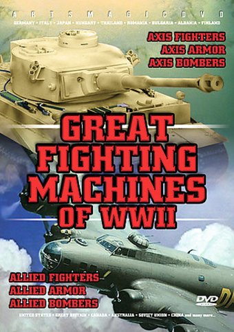 WWII - Great Fighting Machines of WWII (6-DVD)