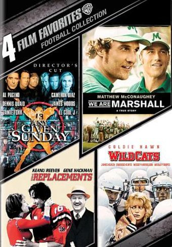 4 Film Favorites: Football Collection (Any Given