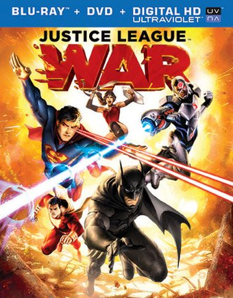 Justice League: War (Blu-ray + DVD)