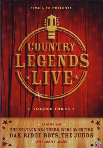 Country Legends Live, Volume 3