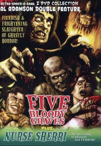 5 Bloody Graves / Nurse Sherri (2-DVD)