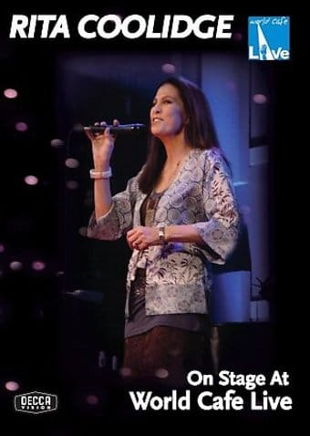 Rita Coolidge - On Stage At World Café Live
