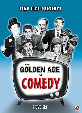Golden Age of Comedy (4-DVD)