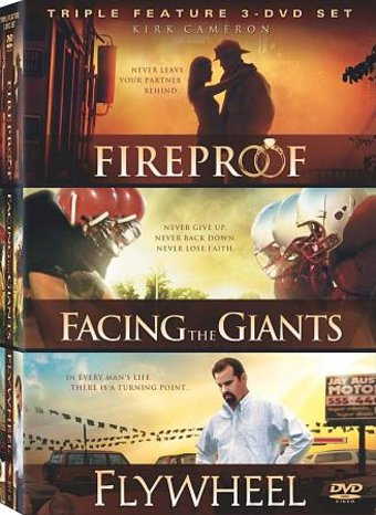 Fireproof / Facing the Giants / Flywheel (3-DVD)