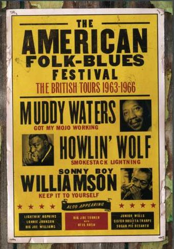 American Folk - Blues Festival: British Tours
