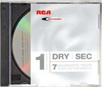 RCA Discwasher RD-1141 1-Brush Dry CD/DVD Laser