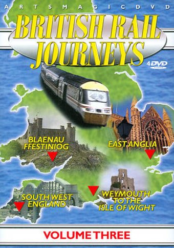 Trains - British Rail Journeys, Volume 3 (4-DVD)