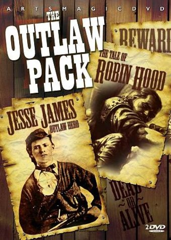 Outlaw 2-Pack: Jesse James: Outlaw Hero / The