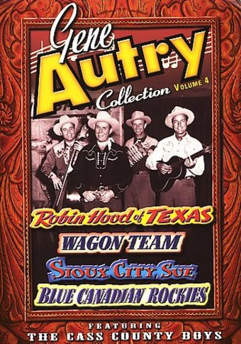 Gene Autry Collection 4 (Robin Hood of Texas /