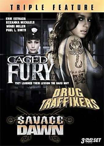 Caged Fury / Drug Traffickers / Savage Dawn