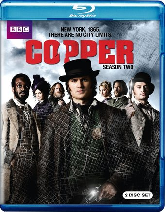 Copper - Season 2 (Blu-ray)