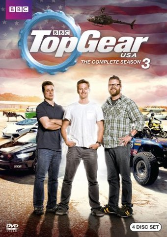 Top Gear USA - Complete 3rd Season (4-DVD)