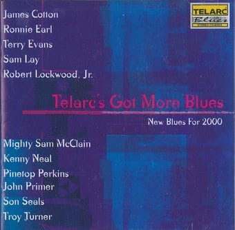 Telarc's Got More Blues - New Blues for 2000