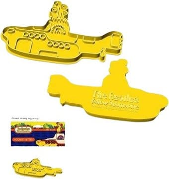 Yellow Submarine: Shaped Cookie Cutter