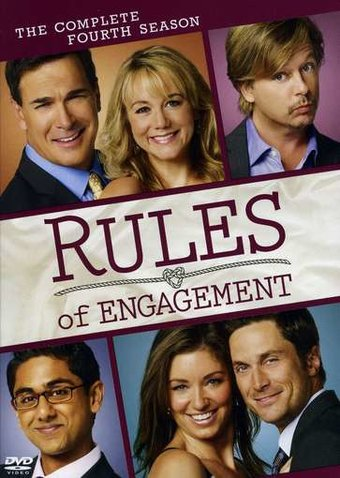 Rules of Engagement - Complete 4th Season (2-DVD)