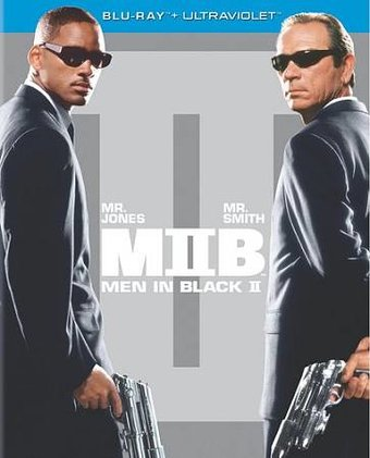 Men in Black II (Blu-ray, Includes Digital Copy,